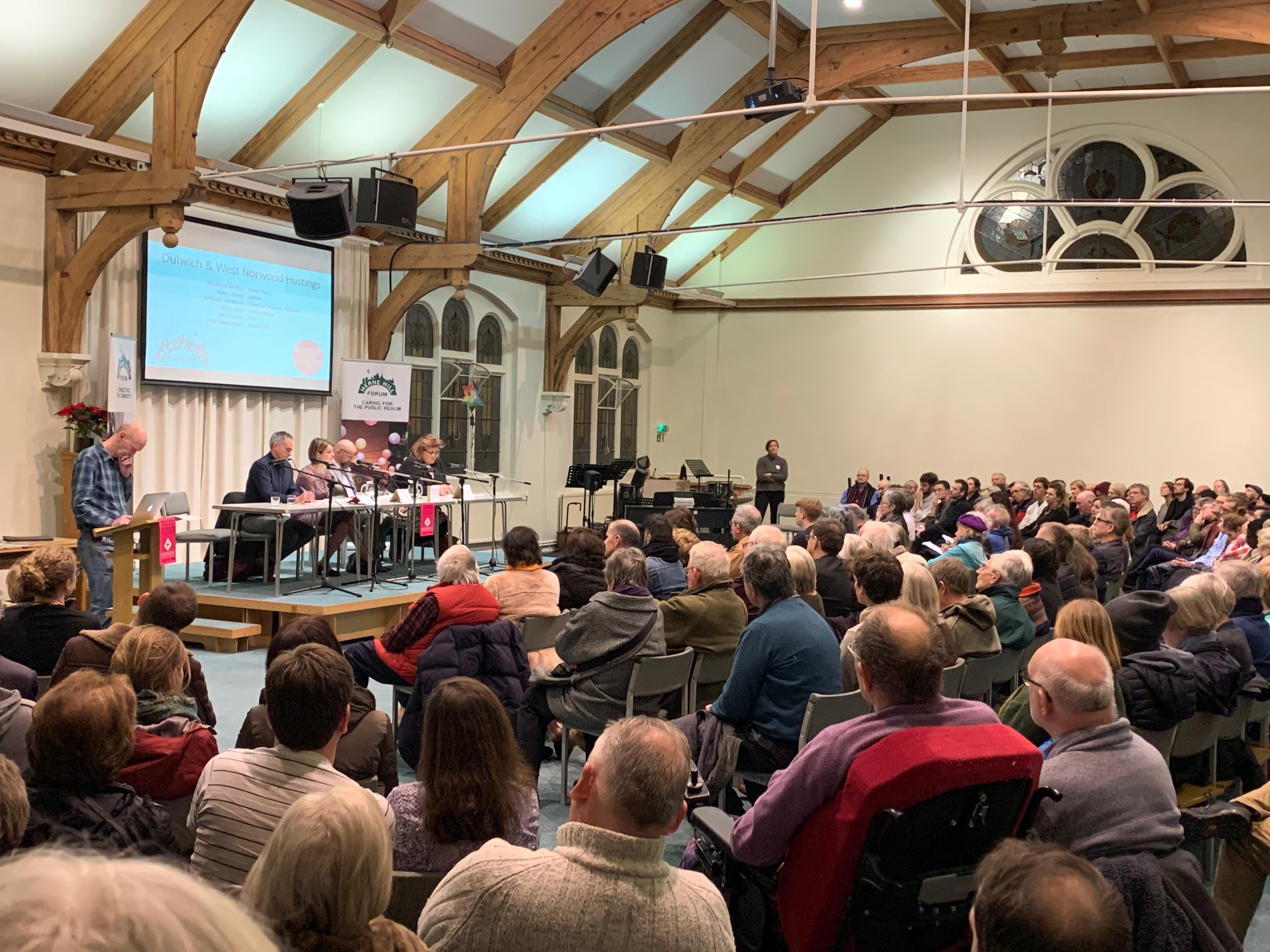 Herne Hill forum hustings 2019