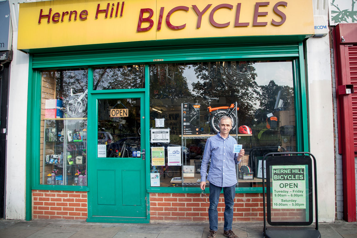 Herne Hill bicycles - waste collective