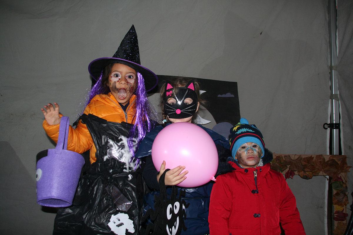 Halloween - children dressing up